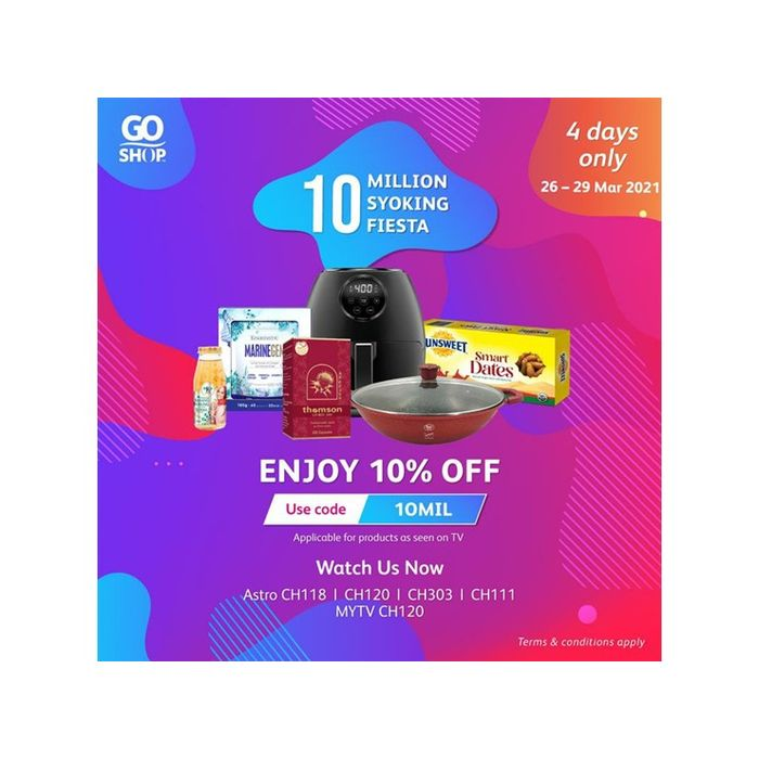 Go Shop celebrates 10 million products sold with amazing deals ...