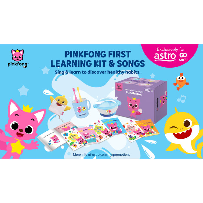 World's first English 'Pinkfong First Learning Kit' launches on ...