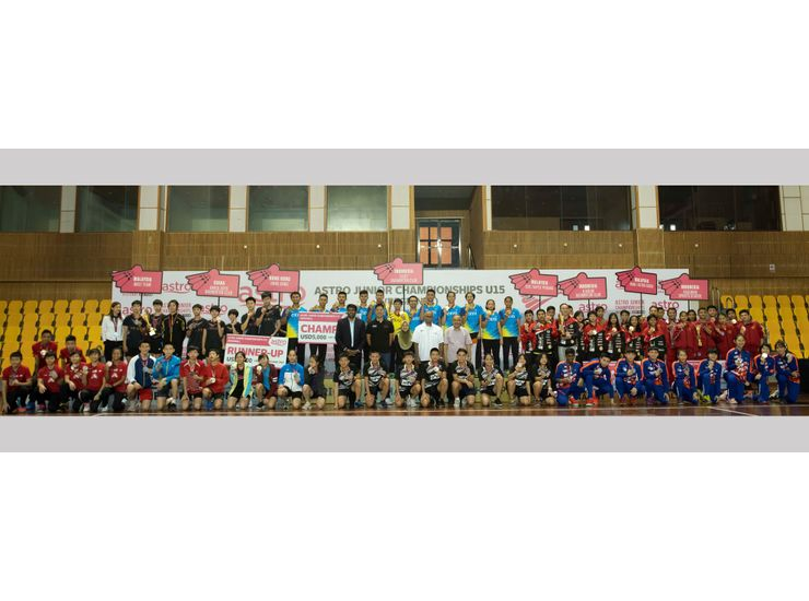 EXIST BADMINTON CLUB CROWNED CHAMPIONS OF ASIA'S FIRST EVER U15 MIXED TEAM BADMINTON CHAMPIONSHIP