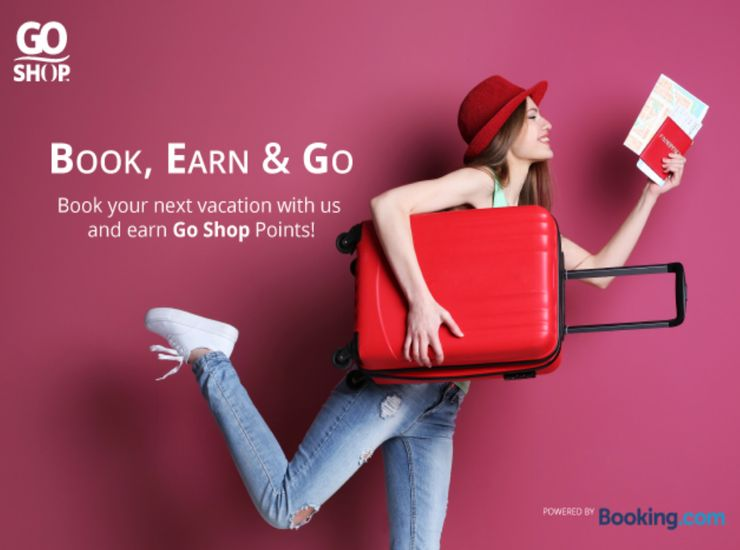 Go Shop partners Booking.com to offer more choices in accommodation