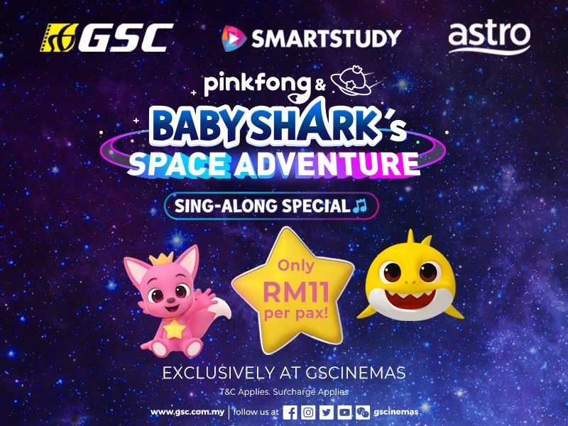First Malaysian Debut of Pinkfong & Baby Shark's Space Adventure Sing-Along Special