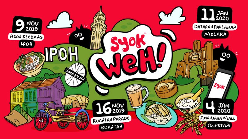 SYOK is visiting major cities around Malaysia with SYOK Weh!
